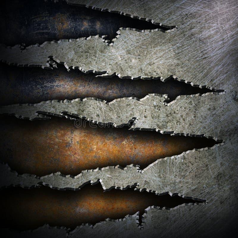 Lerciume del metallo fotografie stock libere da diritti