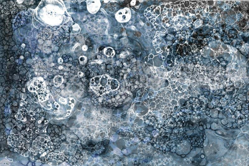 Lerciume fatto a mano della bolla fotografie stock libere da diritti