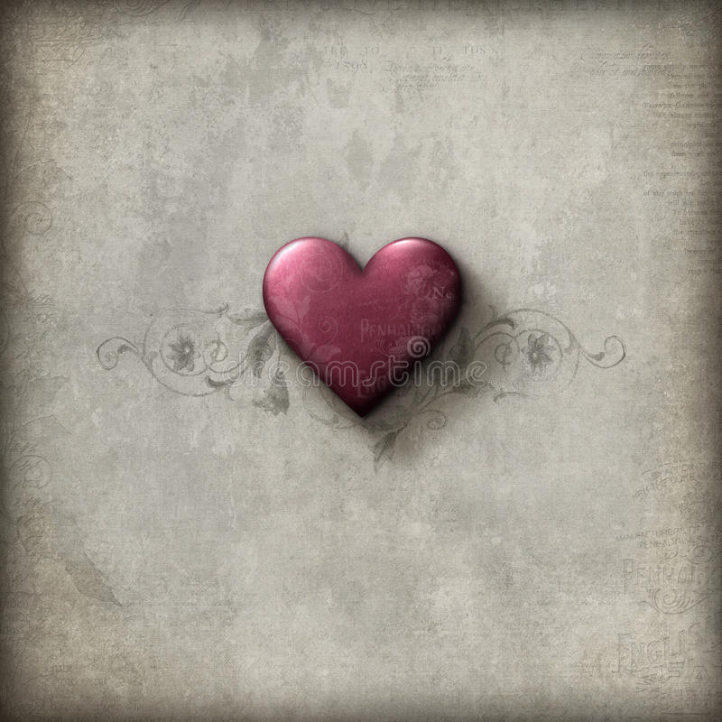 Lerciume romantico fotografie stock