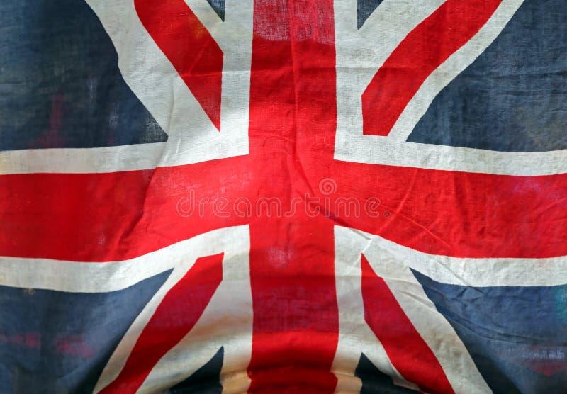 Lerciume Union Jack fotografie stock libere da diritti