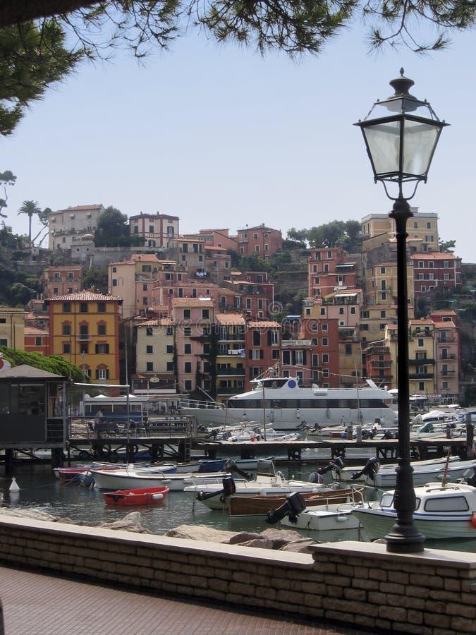 lerici τοπίων της Ιταλίας στοκ εικόνες