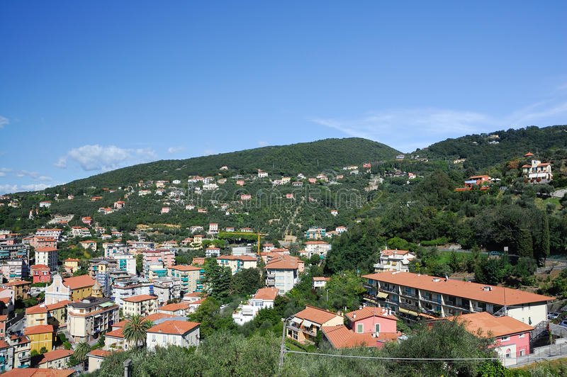 Lerici city royalty free stock image