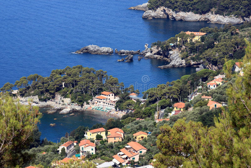 Download Lerici (Liguria, Italy) stock image. Image of coastline - 10681413