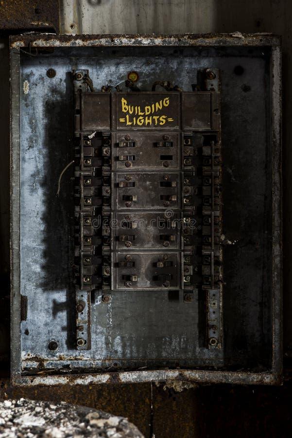 Lerkärl Stad Brygga Företag - östliga Liverpool, Ohio arkivbilder