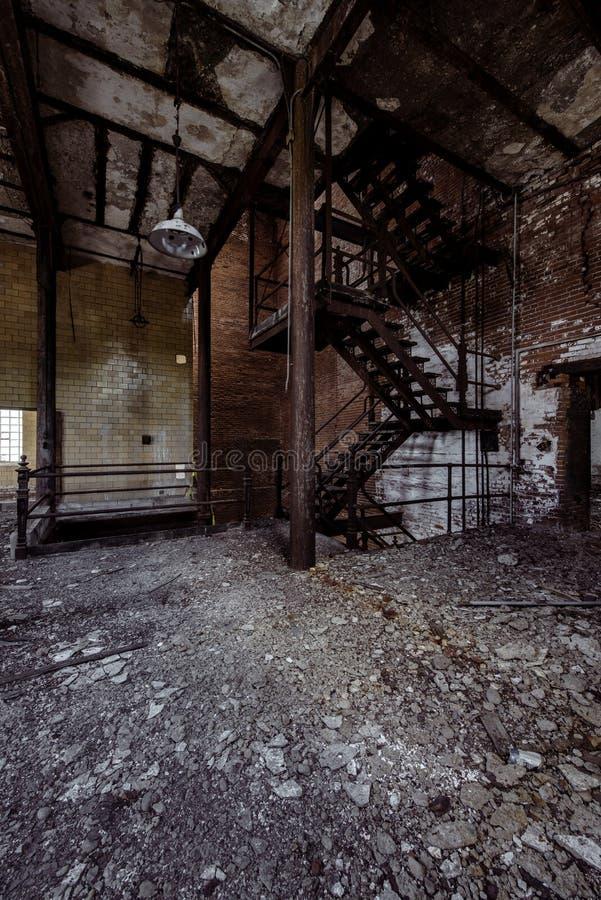 Lerkärl Stad Brygga Företag - östliga Liverpool, Ohio fotografering för bildbyråer