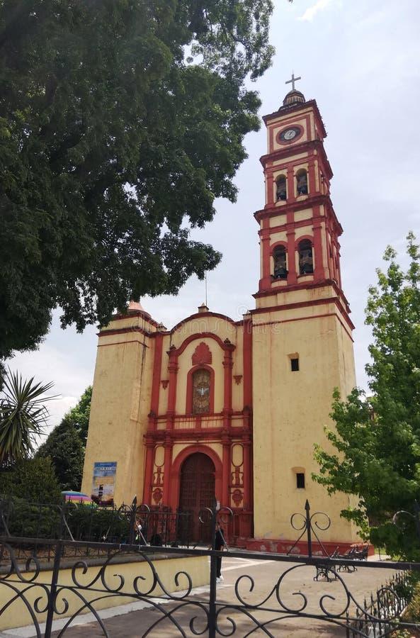 Lerma Mexico hoofdkerk stock foto
