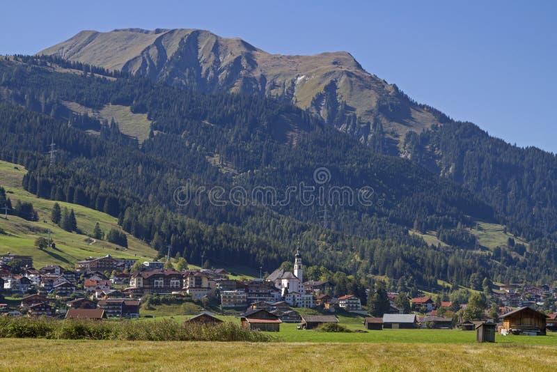 Lermoos en el Tyrol fotos de archivo libres de regalías