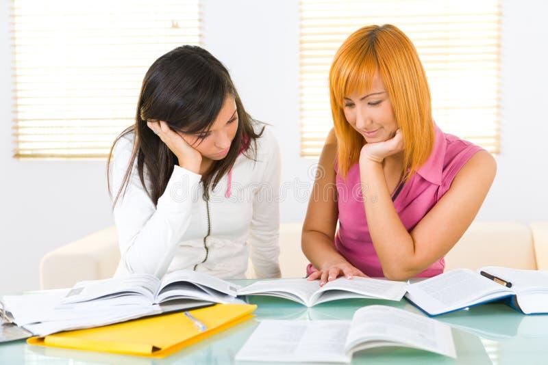 Lernen Von Mädchen Kostenlose Stockfotos