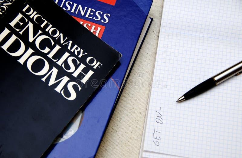 Lernen von Englisch stockfotografie