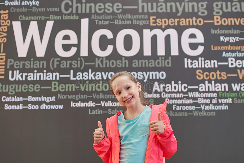 Lernen von Fremdsprachen lizenzfreies stockbild