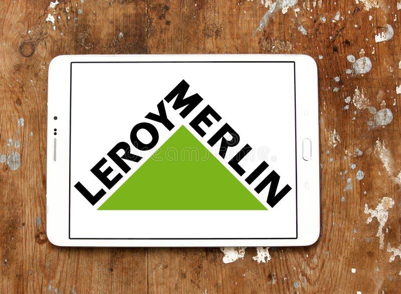 Leroy Merlin retailer logo. Logo of Leroy Merlin retailer on samsung tablet. Leroy Merlin is a French headquartered home improvement and gardening retailer royalty free stock images