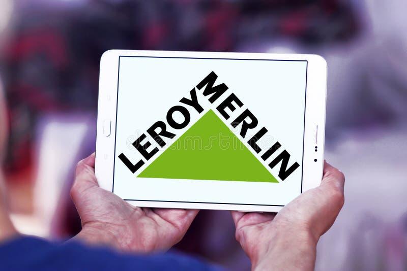 Leroy Merlin retailer logo. Logo of Leroy Merlin retailer on samsung tablet. Leroy Merlin is a French headquartered home improvement and gardening retailer royalty free stock photography