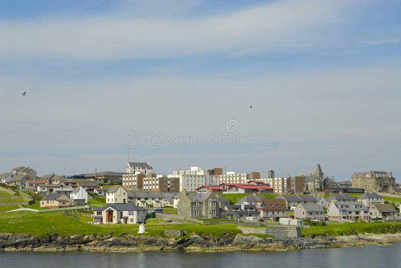 Download Lerwick In The Shetland Islands Stock Image - Image: 8131689
