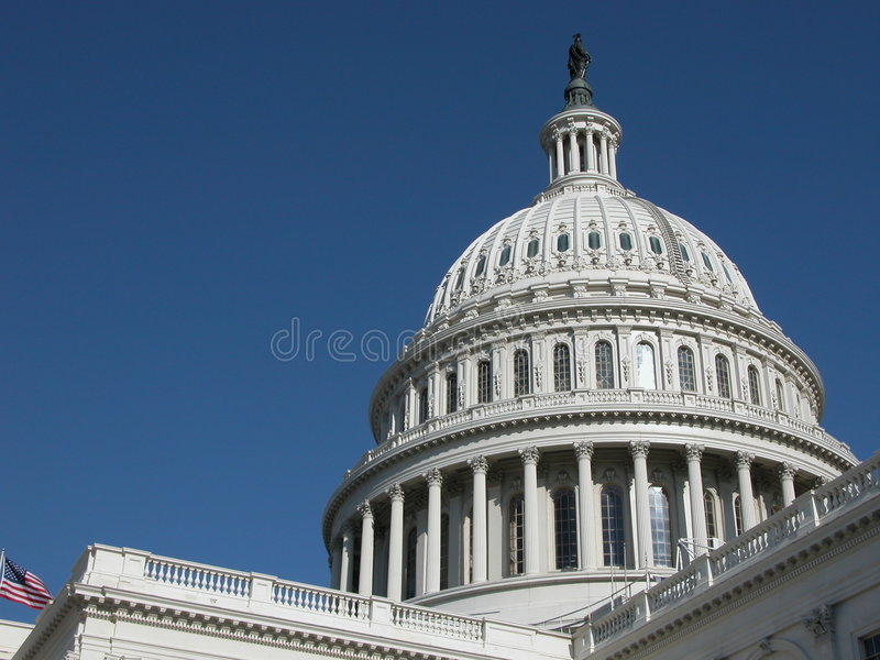 Les États-Unis Capitol photos stock