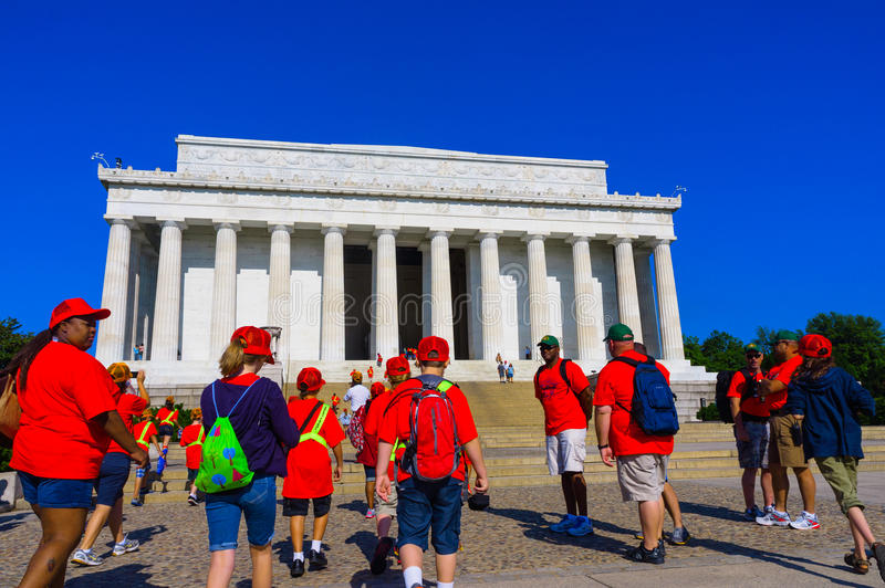 Le Lincoln Memorial photographie stock