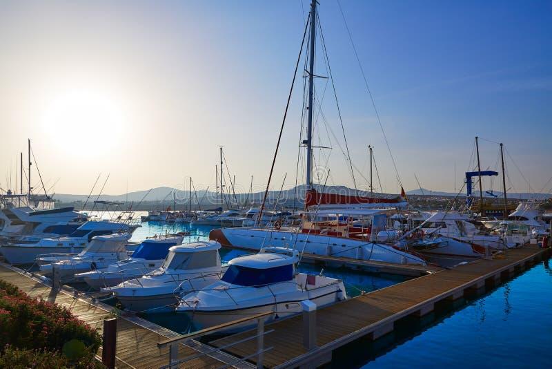 Les Îles Canaries de Fuerteventura Caleta del Fuste image stock