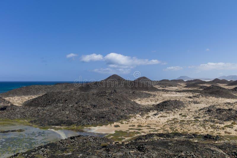 Les Îles Canaries de prés de sel images stock