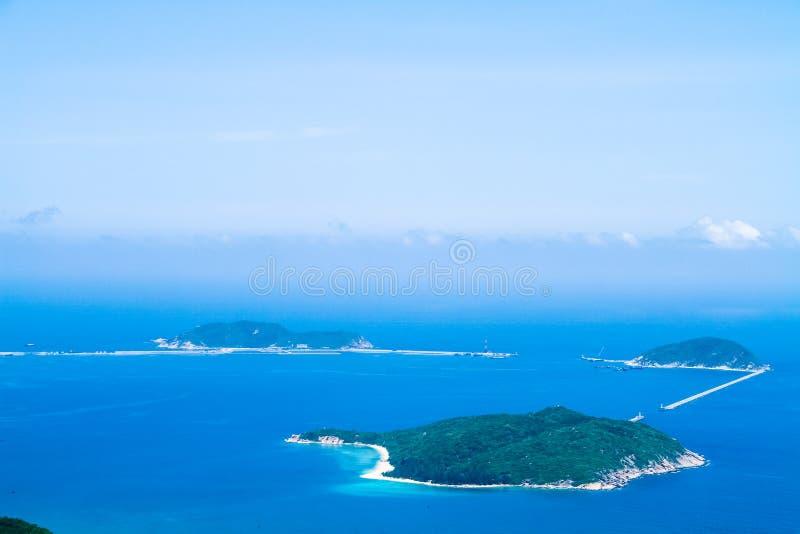 Les îles de mer de sud de la Chine photographie stock libre de droits