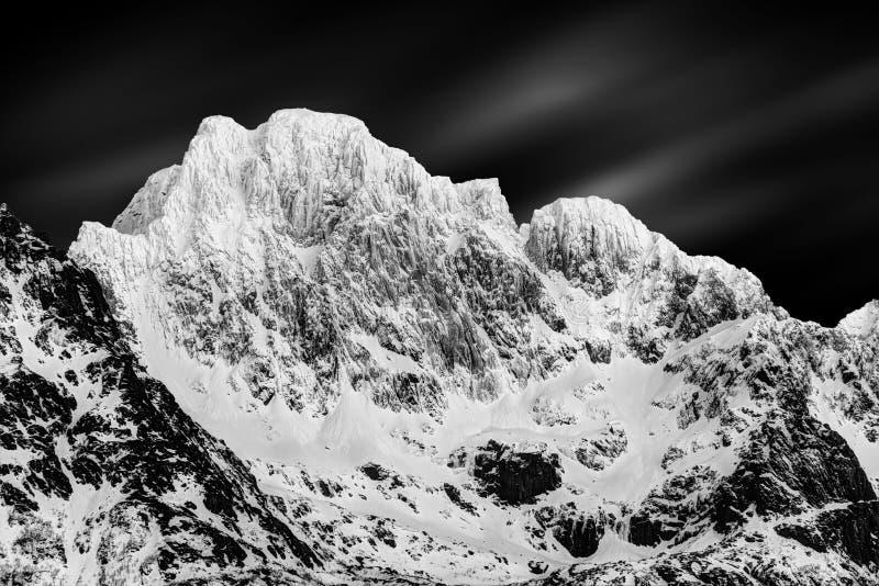 Les îles Norvège de Lofoten image stock