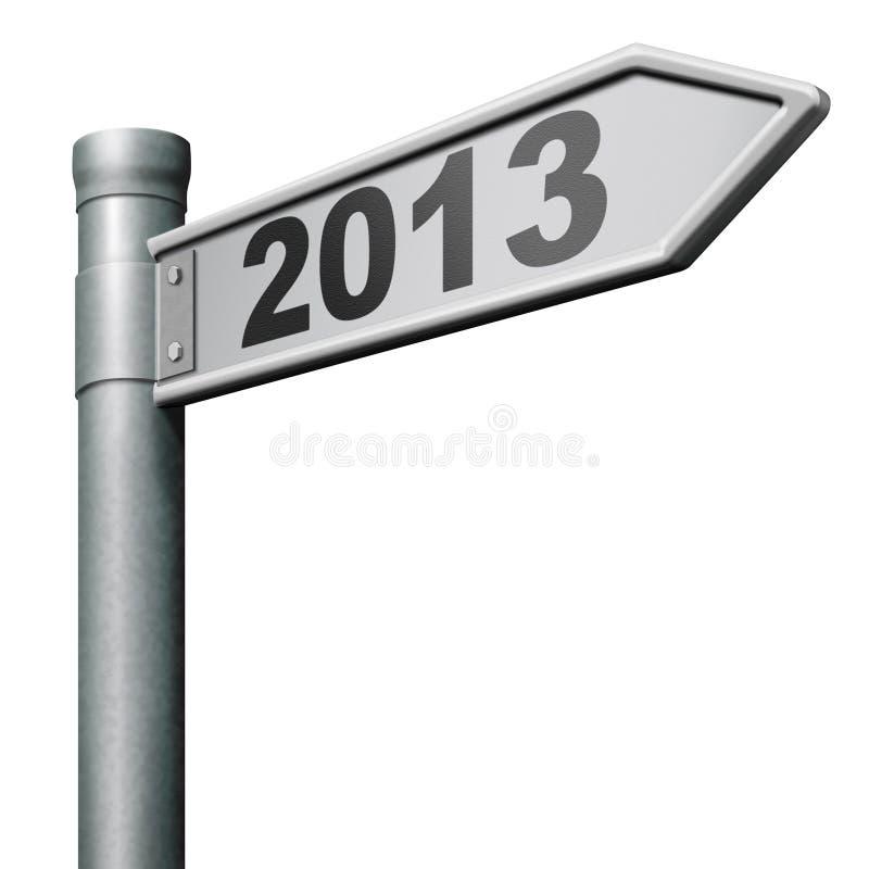 les 2013 ans neufs prochains illustration libre de droits