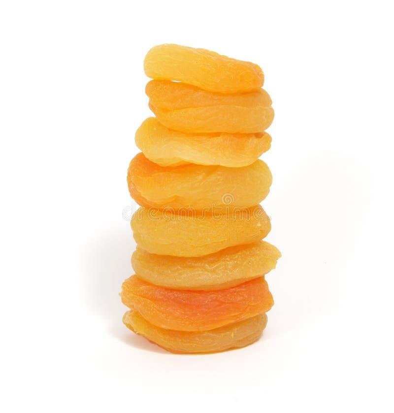 les abricots ont séché photographie stock