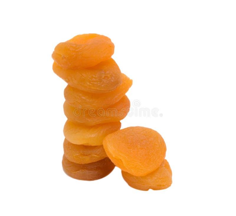 les abricots se ferment sec vers le haut photo stock