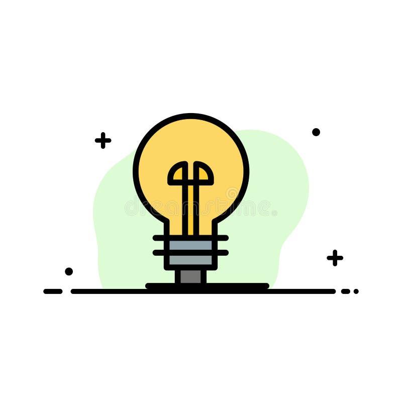 Les affaires, définissant, gestion, ligne plate d'affaires de produit ont rempli calibre de bannière de vecteur d'icône illustration stock
