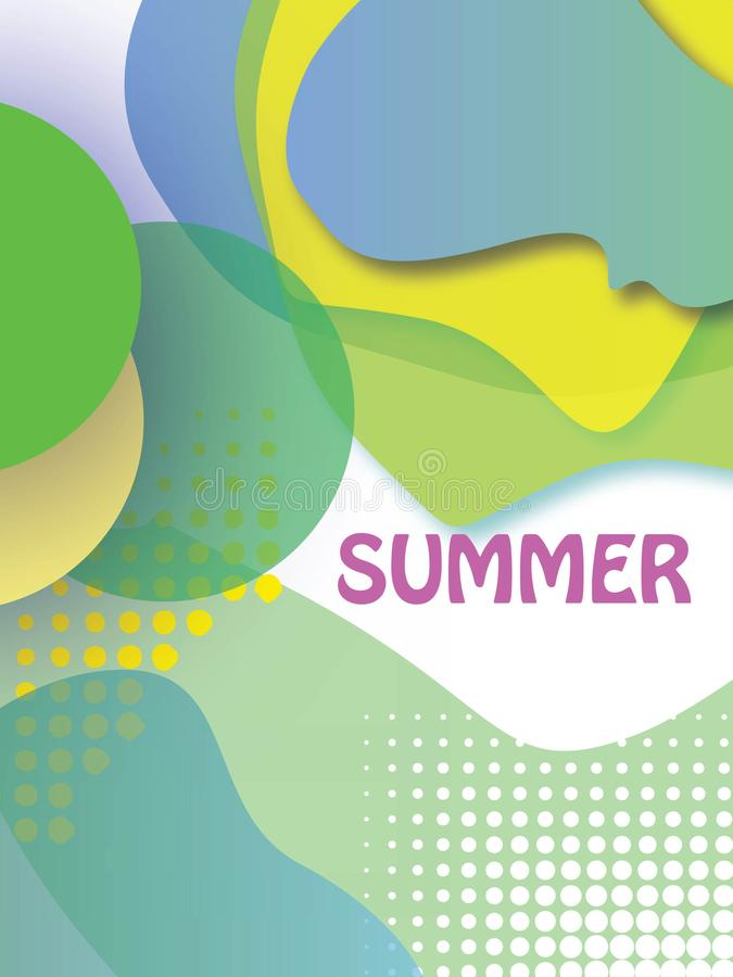 les affiches de carnaval de festival, insecte, ensemble de couverture de brochure, les lignes vibrantes minimalistes dynamiques a illustration de vecteur