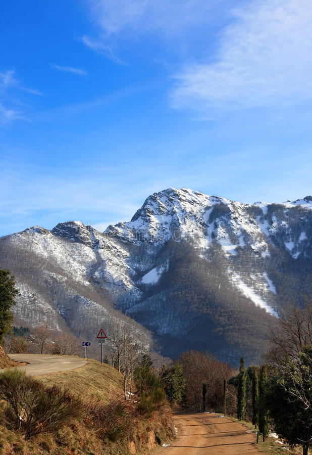 Les Agudes (Montseny, Cataluña, España) fotos de archivo libres de regalías