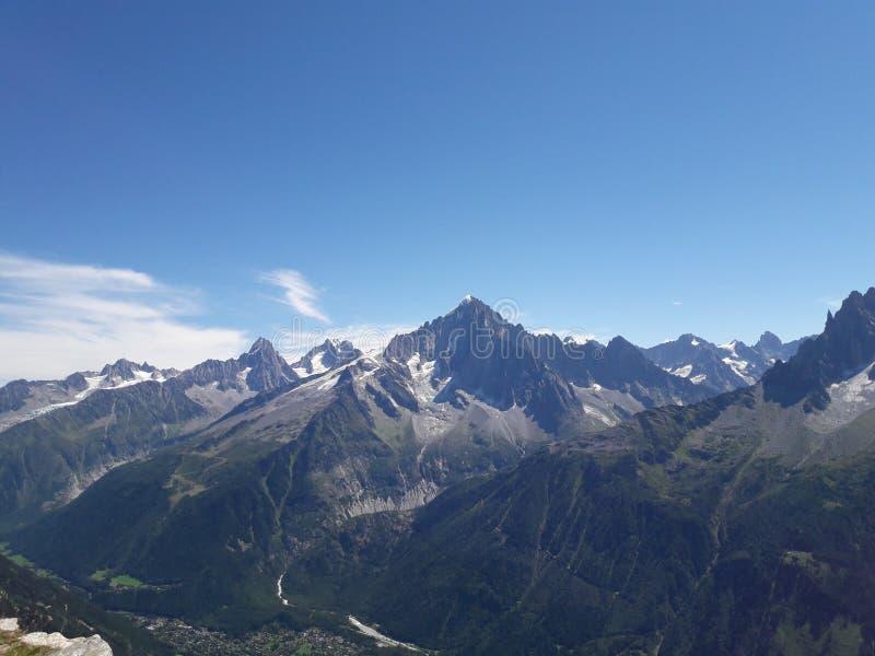 Les Alpes immagini stock