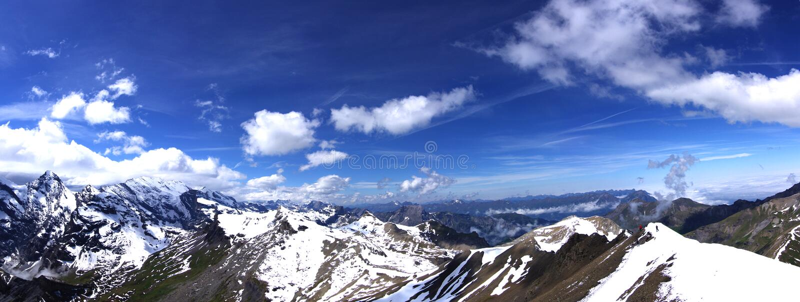 Les Alpes magnifiques photos libres de droits