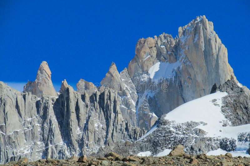 Les Andes austral photos stock