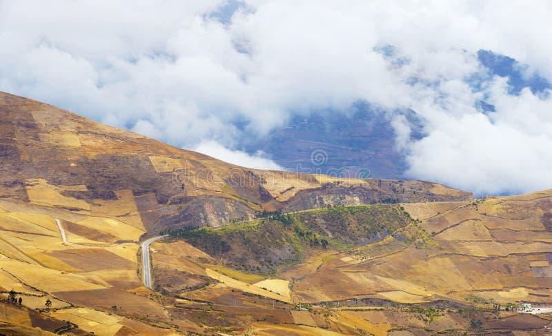 Les Andes en Equateur photos stock