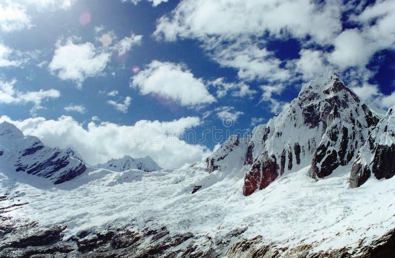 Les Andes péruviens photo stock