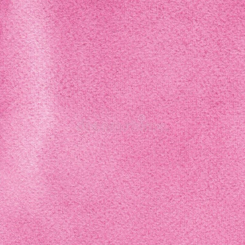 Les aquarelles faites main naturelles roses d'aquarelle peignent le modèle de texture, macro plan rapproché d'aquarelle de peintu image libre de droits