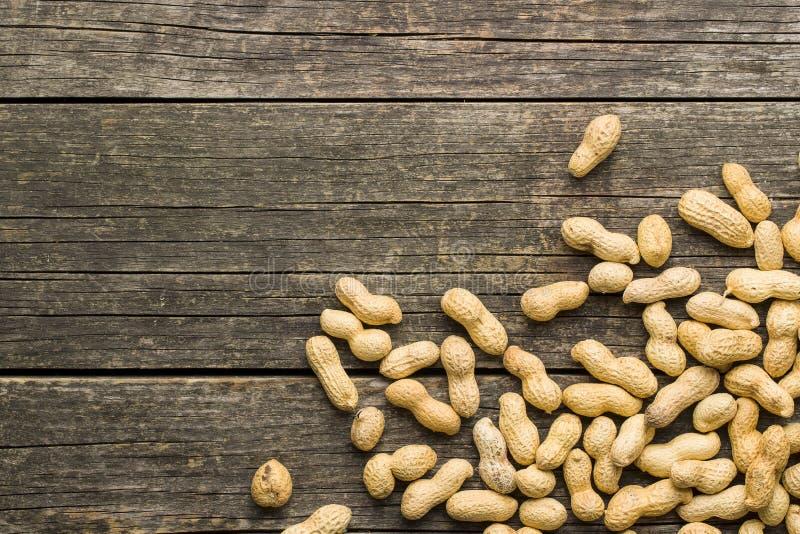 Les arachides sèches photos stock