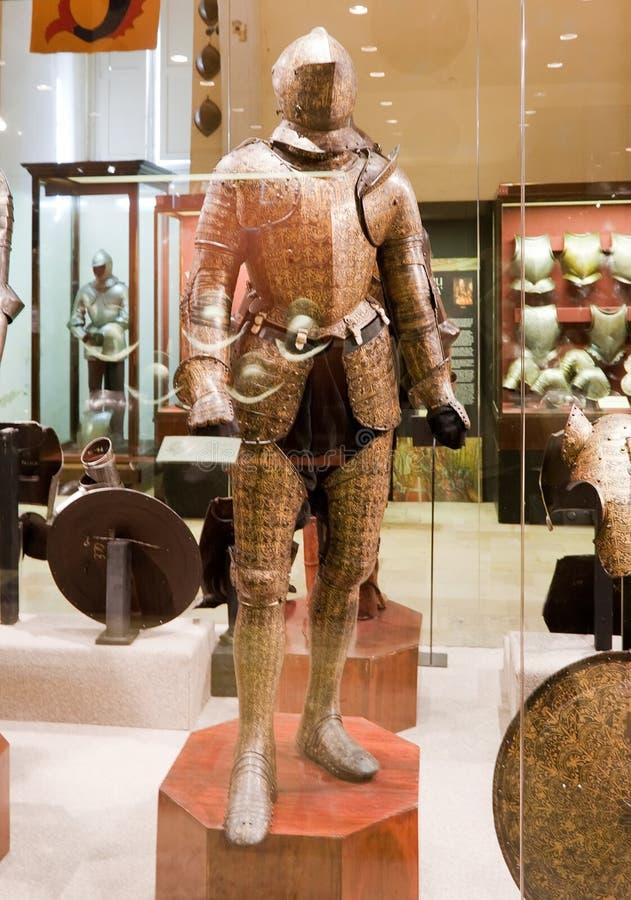 Les armures du chevalier photographie stock
