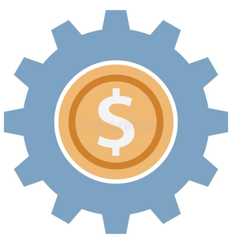 Les arrangements d'affaires colorent l'icône d'isolement de vecteur qui peut être facilement modifiée ou éditer des arrangements  illustration de vecteur