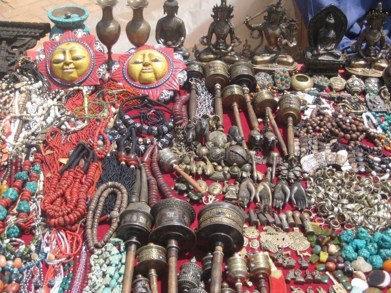 Les attributs spirituels du Thibet photos stock