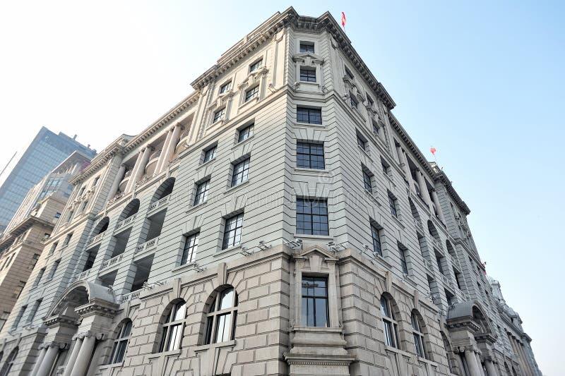 Les bâtiments No.1, bâtiment de Bund de McBain à Changhaï image libre de droits