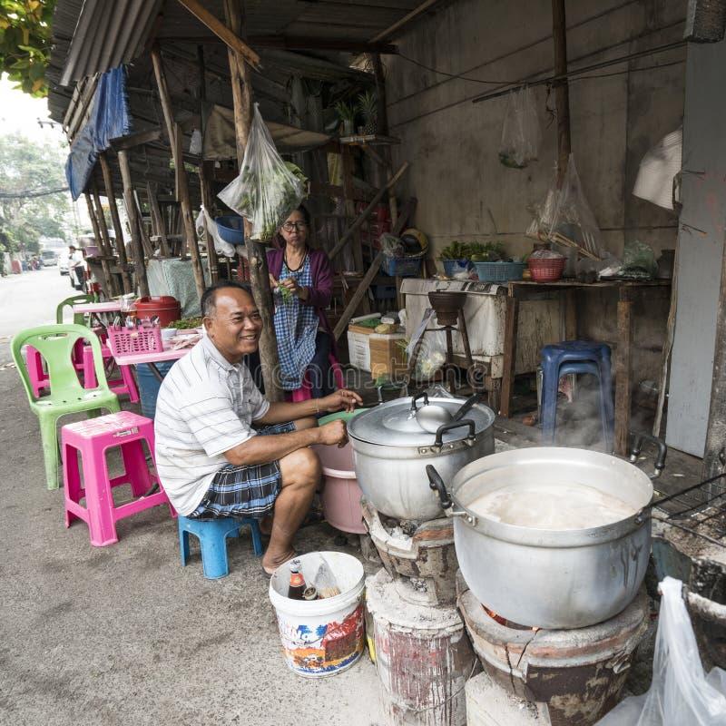 Les banlieues regardent à Bangkok photo libre de droits