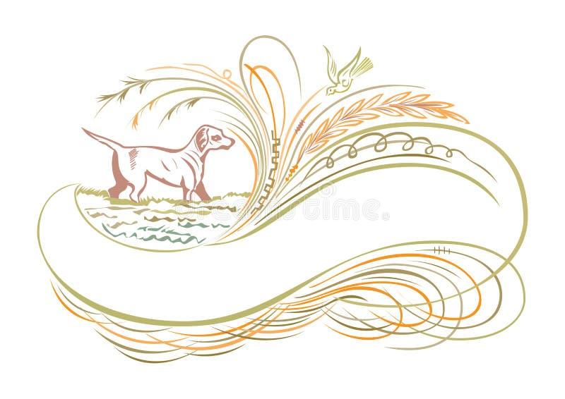 Les bannières orientales abstraites de rubans vue l'illustration illustration de vecteur