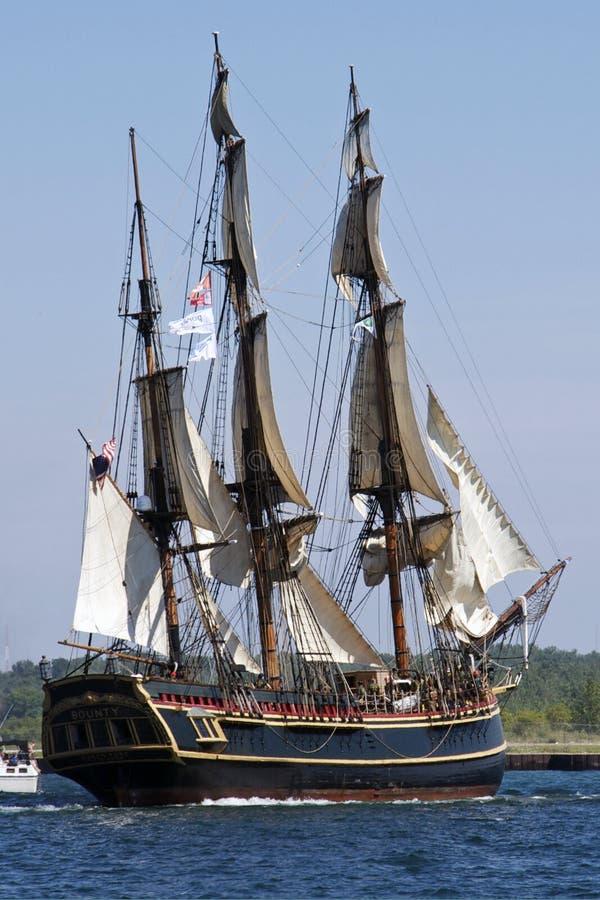 Les bateaux grands contestent 2010 - générosité de HMS image stock