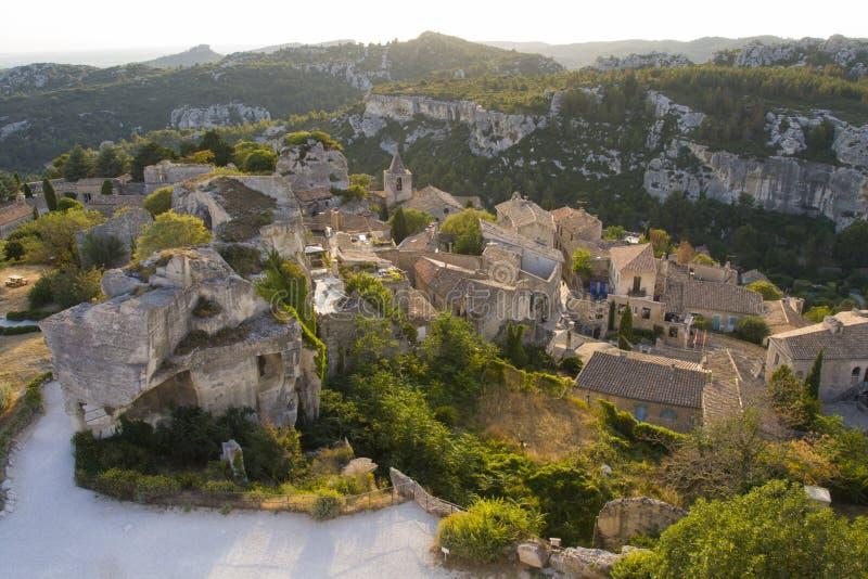 Les Baux DE de Provence royalty-vrije stock foto