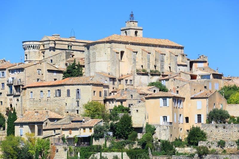 Les Baux DE de Provence stock fotografie