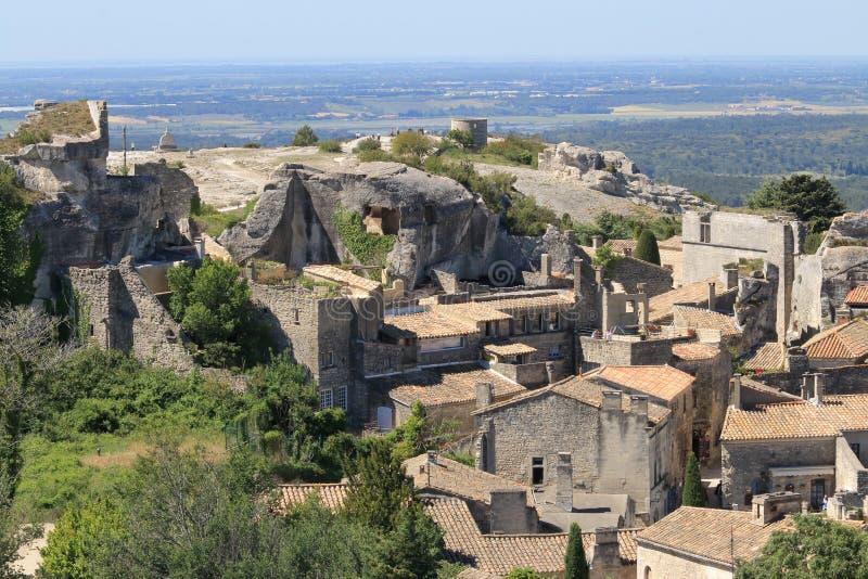 Les Baux-De-Provence, France photos libres de droits