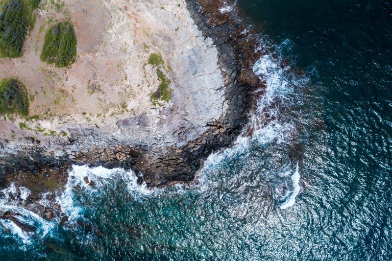 Les beaux rivages de Maui Hawaï photo libre de droits