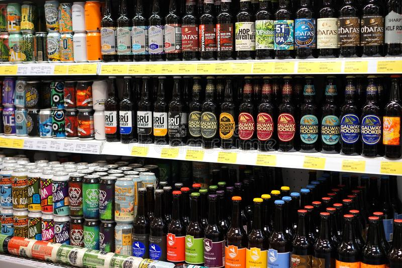 Les bières d'IPA sont également populaires en Irlande photos libres de droits
