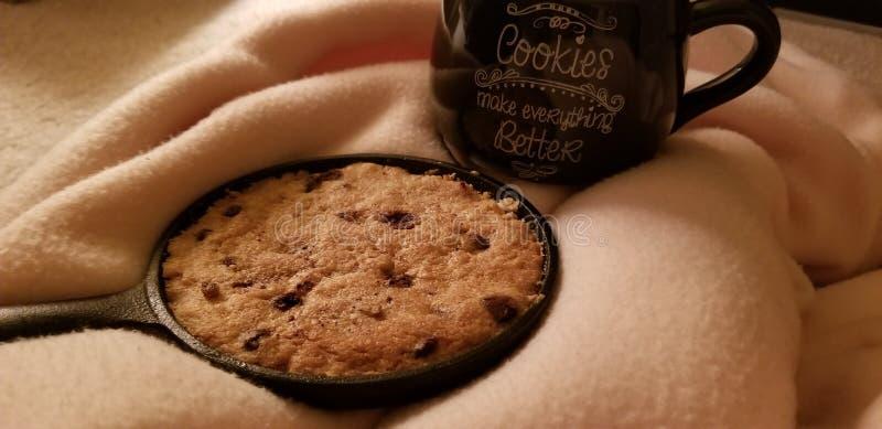 Les biscuits rendent tout meilleur photographie stock