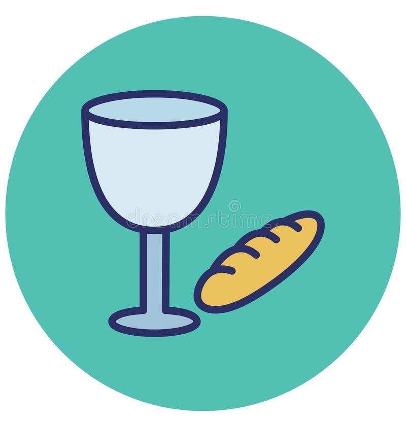 Les boissons, boisson de Pâques ont isolé l'icône de vecteur qui peut facilement modifier ou éditer illustration de vecteur